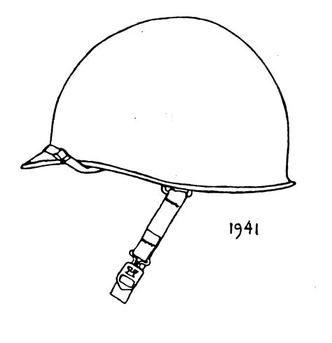 military helmet coloring pages