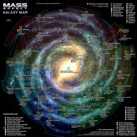 way galaxy map mass effect galaxy map by otvert on deviantart
