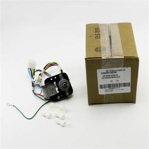 frigidaire evaporator fan motor genuine oem 5303918549 frigidaire kenmore refrigerator