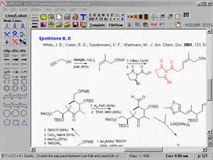Chem Structure Drawer by Drawing Chemical Structures