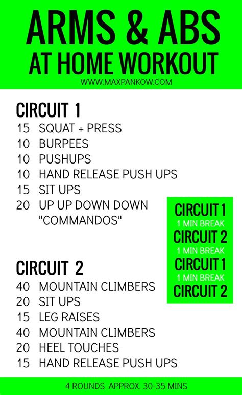 arms and abs at home workout workouts arms abs travel workout fitness