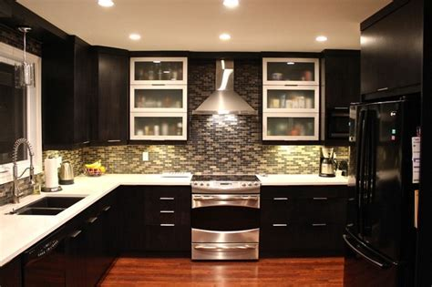 22 Dark Kitchen Ideas   InspirationSeek.com