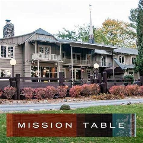 駑ission cuisine mission table mission peninsula traverse city michigan