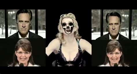 Trouble In Madonna Land by Madonna Nobody Knows Me Backdrop Amagerica