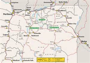map day oregon maps day fossil beds national monument u s