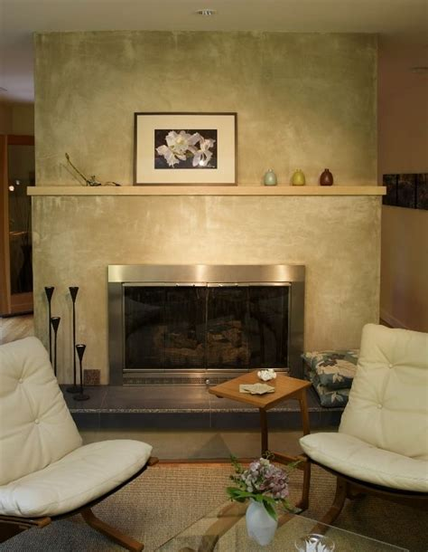 stucco finish around fireplace fireplace ideas