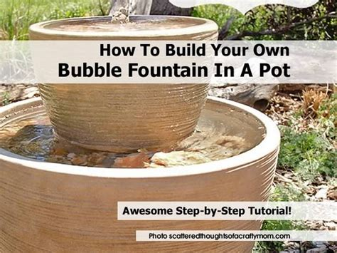 Sofa Cleaning Cost How To Build Your Own Bubble Fountain In A Pot