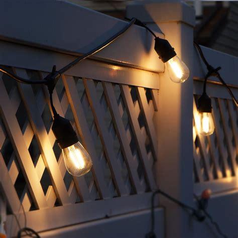 dimmer for led string lights 48ft outdoor led string lights 2w s14 led warm white bulbs