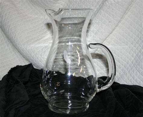 Princess House Crystal Pitcher From Marionskitchen On Ruby