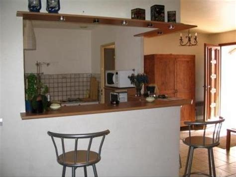 bar de s駱aration cuisine salon comptoir separation cuisine salon cuisine en image