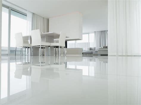 Modern concept modern white floor