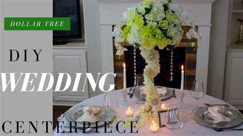 DIY Wedding Decorations   Dollar Tree Wedding Decorations