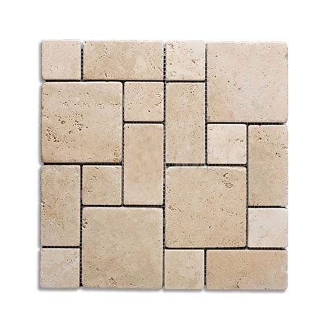 french pattern travertine tiles french pattern navona light brushed chiseled travertine
