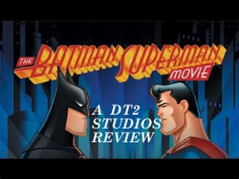 watch the batman superman movie world s finest the batman superman movie world s finest review youtube