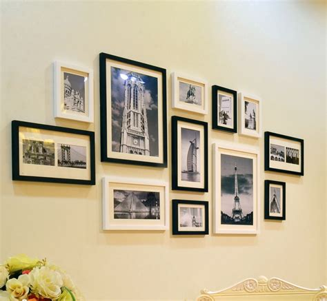 hanging pictures six original ideas for hanging picture frames at home