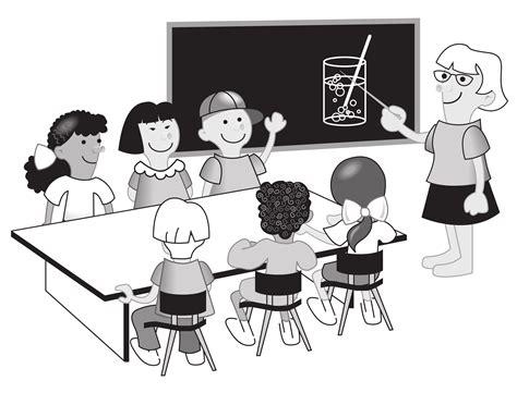 clipart kids  classroom
