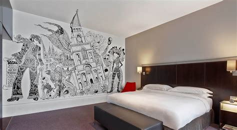 street art bedroom stay here incredible street art rooms at the andaz