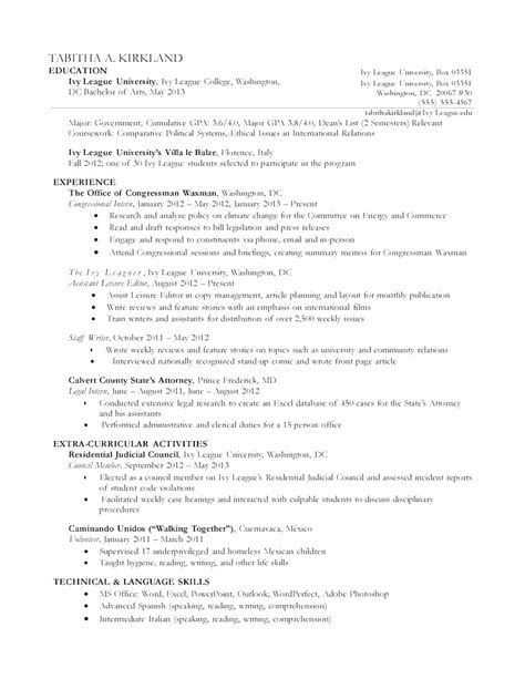 Resume Format Non Chronological Styles Non Chronological Resume Template Sle Chronological Resume Template Free Resumes Tips
