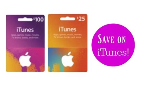Funny Gift Cards To Buy - bogo 20 off itunes gift cards southern savers
