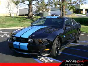 Grabber Blue Mustang With Black Stripes Blue Mustang With Black Stripes Car Tuning