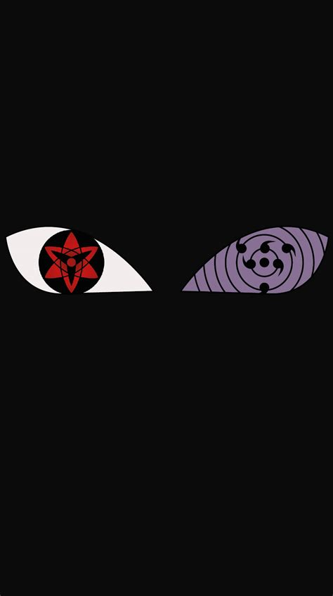 wallpaper bergerak obito mangekyou sharingan rinnegan games tv shows