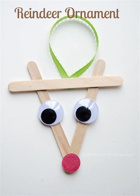 easy reindeer crafts for best 25 reindeer ornaments ideas on
