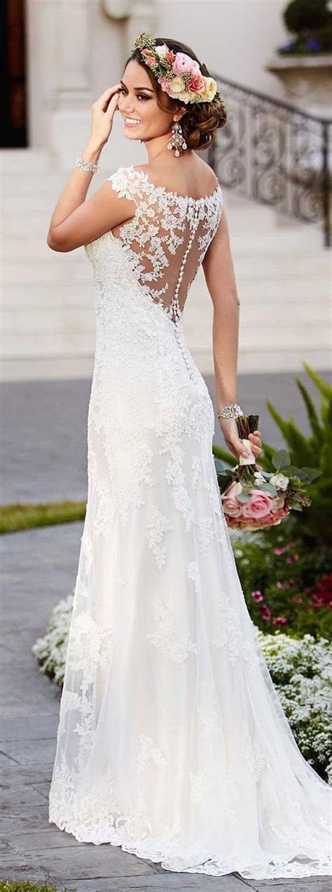 Lace Wedding Gown 25 best ideas about lace wedding gowns on
