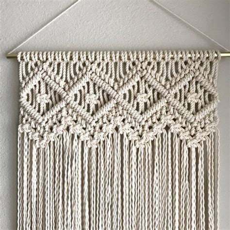 How To Macrame Knots - the 25 best macrame patterns ideas on macrame