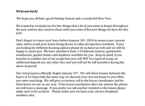 Official Vacation Letter free sle official letters