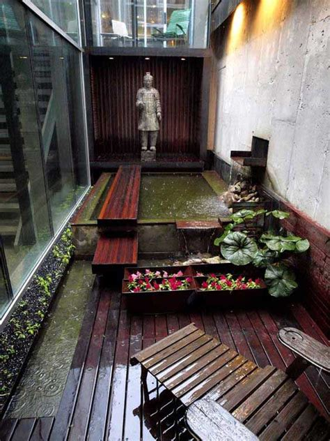 fascinating ideas  tiny courtyards  big