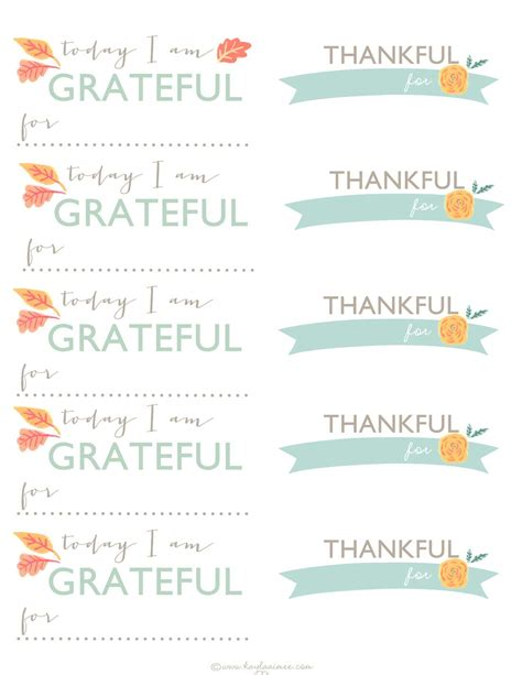 Turkey Thankful Card Template Free by A Thanksgiving Tradition Diy Gratitude Jar Printable