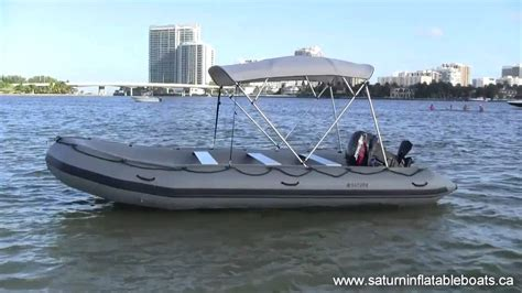 inflatable fishing boat video 18 saturn inflatable boat youtube