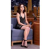 Lily Collins  NBCs The Tonight Show Starring Jimmy