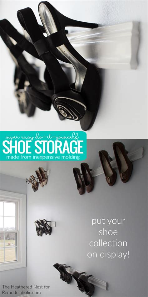 diy family shoe storage solutions andrea s notebook diy high heel shoe rack 28 images diy family shoe