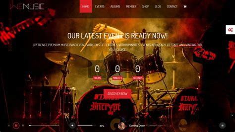themed music events 20 music wordpress themes for music festivals live