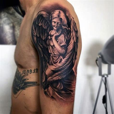 angel tattoo in arm best 25 angel tattoo arm ideas on pinterest unique