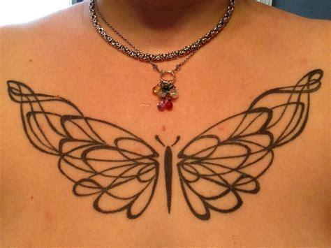 butterfly tattoo on chest chest tattoo butterfly original tattoo designs pinterest