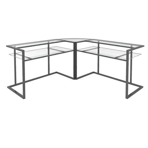 3 piece corner desk belmac c frame computer desk