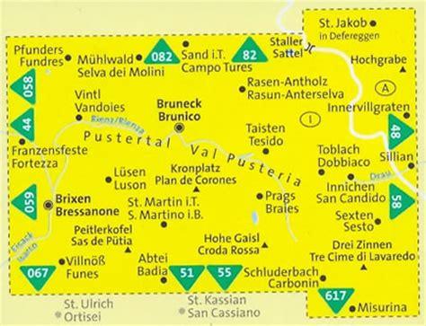 ufficio turismo val pusteria pin mappa topografica con tracciato percorso immagine jpeg