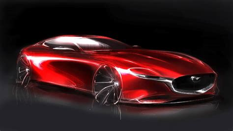 mazda global mazda global design director on the rx vision concept car