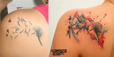 small cover up tattoos small cover up abstract permanent color