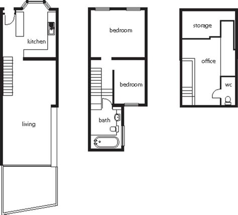 terraced house loft conversion floor plan remodelling a victorian terrace homebuilding