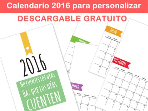 calendarios personalizados 2015 para tu empresa o familia calendario personalizado 2016 para imprimir manualidades