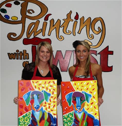 paint with a twist fundraiser lucky rescue painting with a twist fundraiser