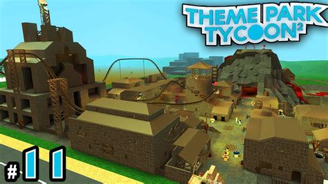 theme park tycoon new theme park tycoon ep 11 our rundown town roblox