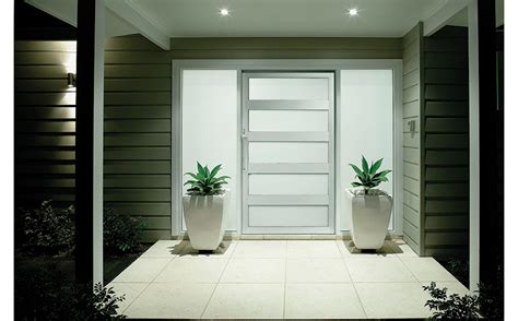 rapid installation aluminium pivot entry door  modern