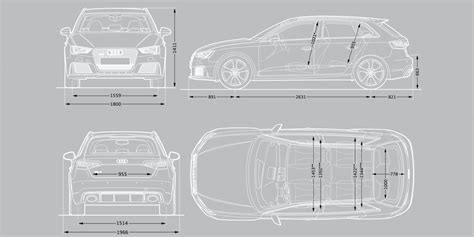 Audi A6 Size Dimensions by Audi Rs3 Sizes And Dimensions Guide Carwow