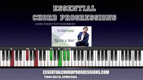 piano tutorial way way chords to made a way by travis greene easy piano tutorial