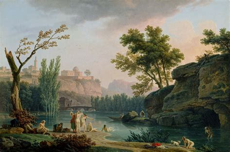 google images landscape fichier joseph vernet summer evening landscape in italy