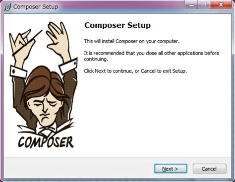 installing composer xp nethazard laravel4
